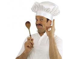 Toque chef cuisinier toque cuisinier bonnet de carnaval chef cuisinier chapeau de cuisinier bistrot accessoire déguisement gourmet carnaval