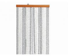 Fun Star Rideau de perles en plastique Astor 100 x 200 cm marron/beige Brema 119