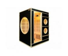 Sauna a infrarossi 3/4 posti NIVALA - Nero