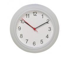 IKEA 700.989.89 RUSCH Horloge murale Plastique Blanc 25 x 25 x 4 cm