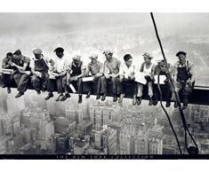 1art1 331 Poster New York Déjeuner au-dessus de Gratte-Ciels 1932 91 X 61 cm