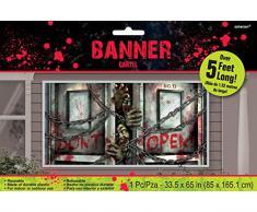 Banière Zombies - Décoration Halloween