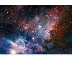 Espace Et Univers Papier Peint Photo/Poster - La Naissance D'Étoiles Dans La Nébuleuse De La Carène, 3 Parties (360 x 250 cm)