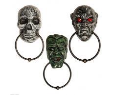 Décoration halloween - Heurtoir de porte - Crâne