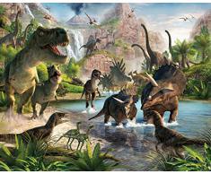 Walltastic Papier peint mural Dinosaure 2,4 x 3 m