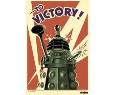 1art1® 50016 Poster Doctor Who Daleks A la Victoire 91 x 61 cm