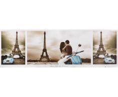 1art1 Tour Eiffel Midi Poster - Triptyque, Paris, Ville De lamour (91 x 30 cm)