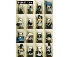 Toilet.cam -Grande affiche PAPIER- poster - Dimensions 91.5 x 61 cm (environ)