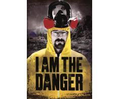 Poster Breaking Bad - I am the danger - affiche à prix abordable, poster XXL format 61 x 91.5 cm