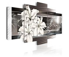 Impression sur toile 200x100 cm - Grand format - XXL - 5 Parties - Image sur toile - Images - Photo - Tableau - motif moderne - Décoration - pret a accrocher - Nature 020110-122 200x100 cm B&D XXL