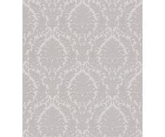 Trianon 2015 512823 Papier peint non tissé en vinyle Style baroque Gris