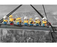 Despicable Me - Minions Lunch On A Skyscraper 61 x 91 cm Affiche