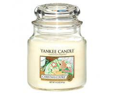 Yankee Candle bougie moyenne jarre, «Cookie de Noël»
