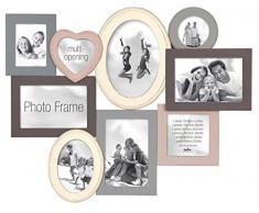 Innova PI03437 Madeira II Cadre Multi Vues pour 9 Photos 52,5 x 40 x 2 cm