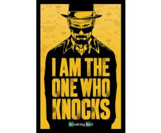Pyramid International Maxi poster I Am The One Who Knocks Breaking Bad, Multicolore, 61Â x 91.5Â x 1.3Â cm
