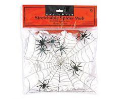 Décoration grande toile d'araignée Halloween