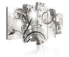 Impression sur toile 200x100 cm - Grand Format - 5 Parties - Image sur toile - Images - Photo - Tableau - Abstraction a-A-0051-b-m 200x100 cm B&D XXL B&D XXL