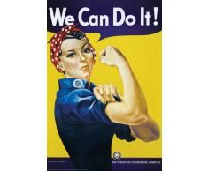Affiche publicitaire We Can Do It (61 x 91.5cm)