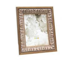 Deknudt Frames S67BA1 Cadre Photo Style Baroque Bois Doré/Beige 30 x 40 cm