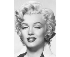 Poster 412 mural géant 183 x 254 cm Marilyn Monroe en 4 parties grandes dimensions