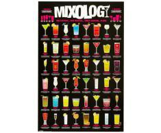 1art1 49075 Poster Cocktails Mixology 91 X 61 cm