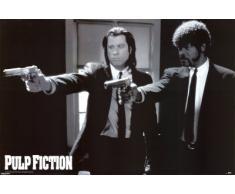 1art1 39100 Poster Pulp Fiction Fusils 91 X 61 cm