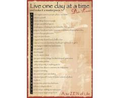 1art1 Bouddhisme Poster - Dalai Lama, A to Zen (91 x 61 cm)