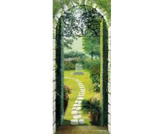 Jardins Papier Peint Photo/Poster - Vue Du Portique (200 x 86 cm)