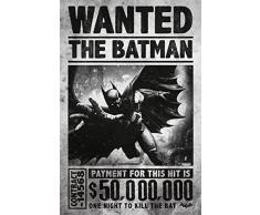 Posters: Batman Poster - Arkham Origins, Wanted (91 x 61 cm)