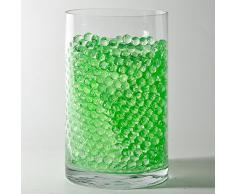 niceeshop(TM) Perles d'Eau / Billes de Gel pour le Vase la Décoration de Table (Vert, 6 Sachets)
