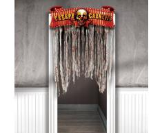 amscan- Decoration Halloween, 240148-55, Gris