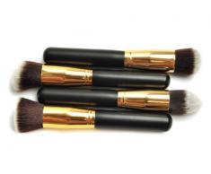 niceeshop(TM) Pinceaux de Maquillage Professionnels avec Un Sac de Rangement, Kit de 4