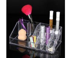 KingSo(TM)Organisateur Rangement BoIte Rouge A Levres Brosse Mascara Maquillage Presentoir #3