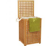 Coffre Panier à linge en Bambou ajouré très belle qualité et finition