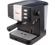 Sirge Macchina per Caffe Espresso SUPER CREMA e Cappuccino caffe in polvere Gran Bar