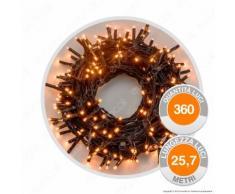 Catena 360 Luci LED Reflex Bianco Caldo con Controller Memory - per Interno e Esterno