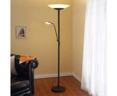 Ragna - lampada LED da terra con luce di lettura