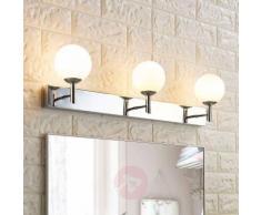 Applique LED da bagno Florijon, trilampada, IP44