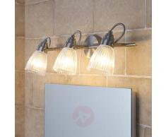 Kara - lampada a 3 luci per bagno con LED G9