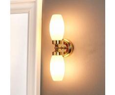 Lampada da parete Maylie per il bagno