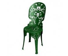 SELETTI sedia INDUSTRY GARDEN (Verde - Alluminio)