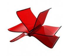 KARTELL portariviste FRONT PAGE (Rosso - PMMA trasparente)
