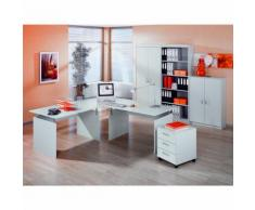 Set scrivania e arredo ufficio Albi XL in grigio