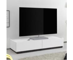 Mobile porta TV Rex V in bianco opaco