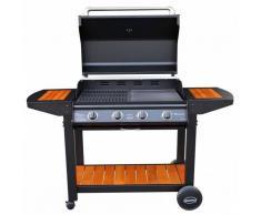 Caesaroo Barbecue Maiorca 4 fuochi a gas