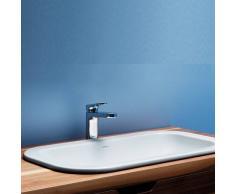 AZZURRA Lavabo Ad Incasso 50 Cm Glaze Bianco