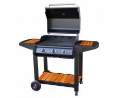Caesaroo Barbecue Siviglia 3 fuochi a gas