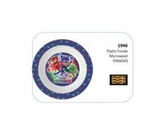 Pj masks super pigiamini piatto fondo microonde 1946 1133
