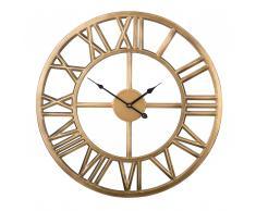 Orologio da parete color oro NOTTWIL