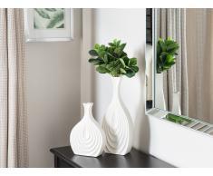 Vaso decorativo alto colore bianco THAPSUS